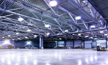 Le regole da seguire per l'illuminazione industriale a led