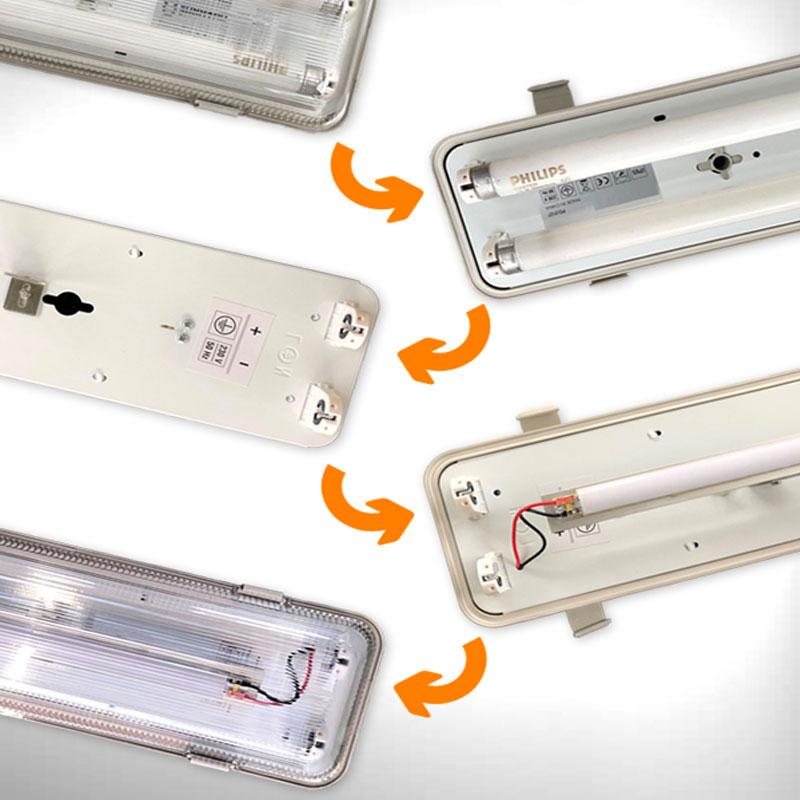 RESTYLING NEON - RESTYLING PER LAMPADE TRADIZIONALI - RESTYLING PERSONALIZZATI